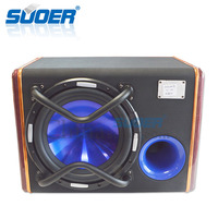 Suoer Factory cheap car woofer 10 inch speaker subwoofer 12v car bass box