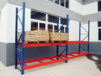 Stoccaggio scaffalature di magazzino cremagliera scaffali per pallet