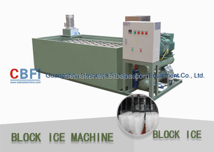 2 Tons Block Ice Making Machines in Africa