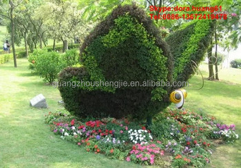 SJH102005 Artificial Flying Butterfly Plastic Butterflies For Garden  Decoration Artificial Topiary Animal
