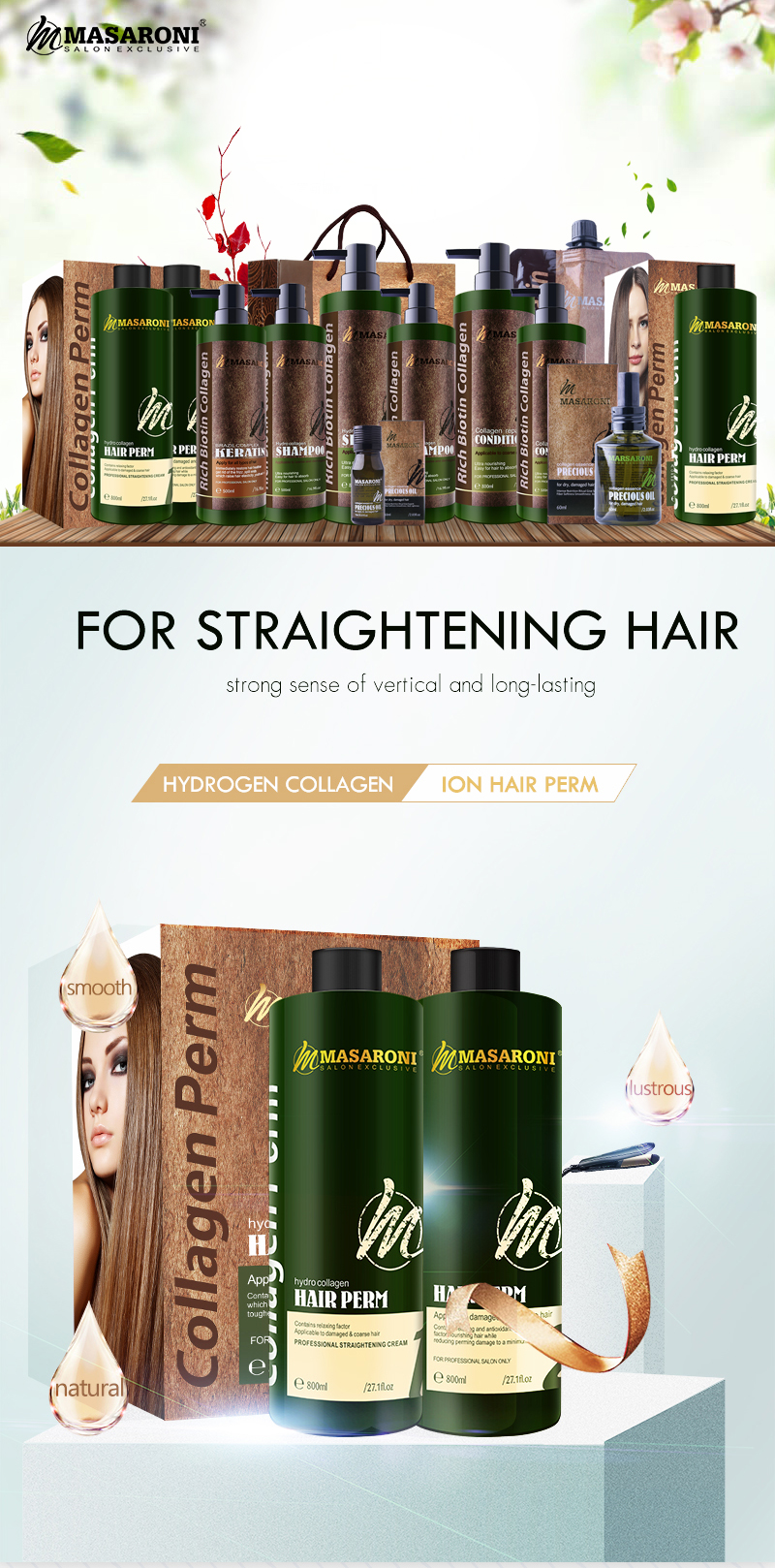 Professional salon use long lasting permanent hair straightening hair perm cream wholesale