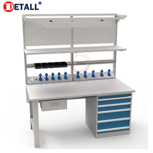 Detall high quality heavy duty indoor working tradesman workbench custom workbench workbench tool cabinets