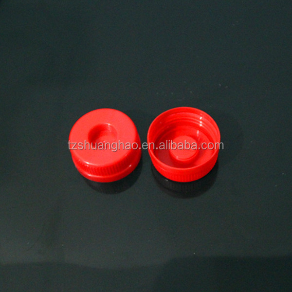 45mm plastic water cap with plug on the top to connect wtih water dispenser for 5ltr 10ltr water bottle