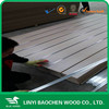 One side Solid Color or Wood Grain 4'x8' 21mmMelamine Slot MDF Panel/Linyi manufactuer