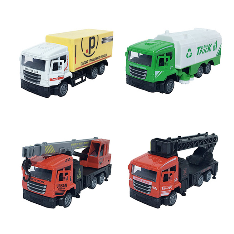 Wholesale 1:32 new produce toy dump truck without light