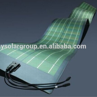 semi flexible solar cell panel 170w thin film