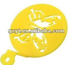 Happy Birthday Cake Decoration Plastic Butterfly Stencil
