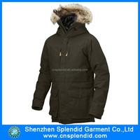 Custom logo running winter plus size men jackets
