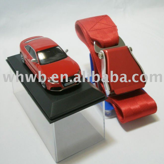 WHWB-100002 Audi car model + airplane belt