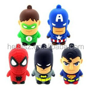Hot Sell 8GB USB Drive Best Gift Pen Drive USB 2.0 Flash Memory PenDrive Cartoon Shape USB Flash Drive