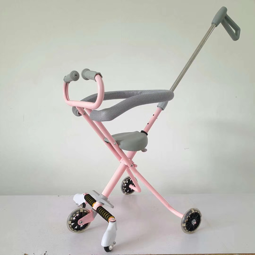 NEW brand good baby stroller with soft seat 2 in 1 matel frame hot mom stroller