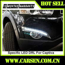 Wholesale -with dimming function- Auto Lighting Specific LED DRL For Chevrolet Captiva LED Lamps 2012+