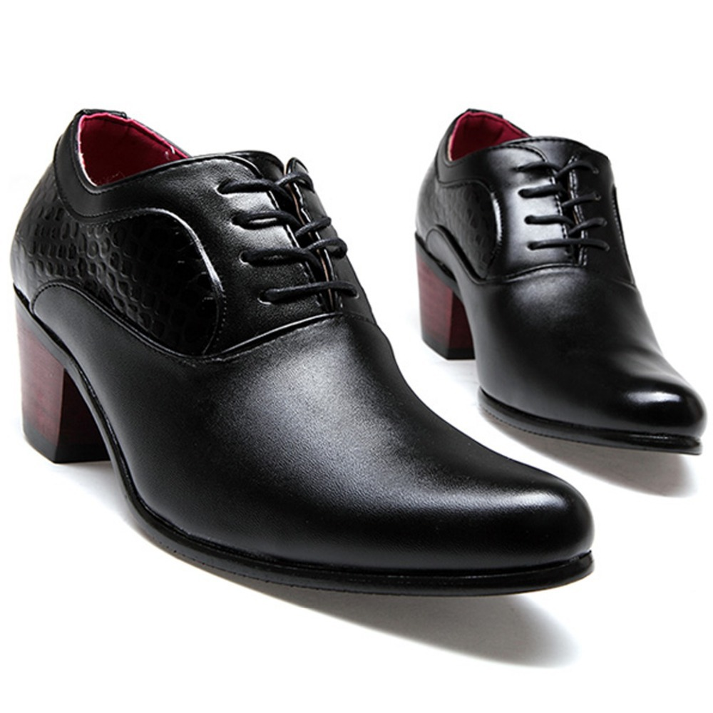 Mens Kid Leather Shoes