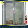 YY double glazed thermal break aluminium bathroom sliding door designs