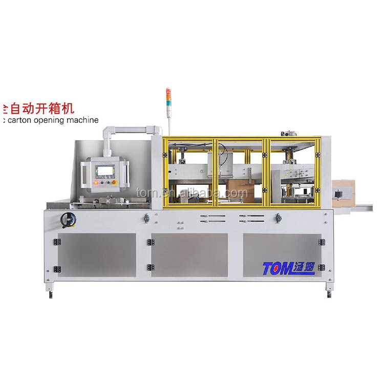 Widely application best sell carton adhering carton erecting machine