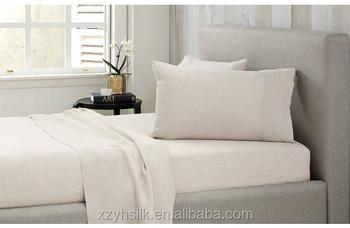 Captivating Oeko Tex 100% Linen Bedding Set,Flax Bed Sheet