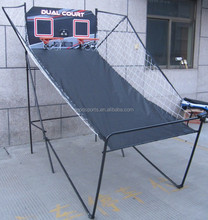 1.25 Portable Basketball Frame For Game MDF Backboard and ball return net
