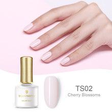 BORN PRETTY Opal Желе Гель-лак для ногтей 6 мл полупрозрачный белый розовый лак отмачиваемый Маникюр УФ-гель для дизайна ногтей лак(Китай)