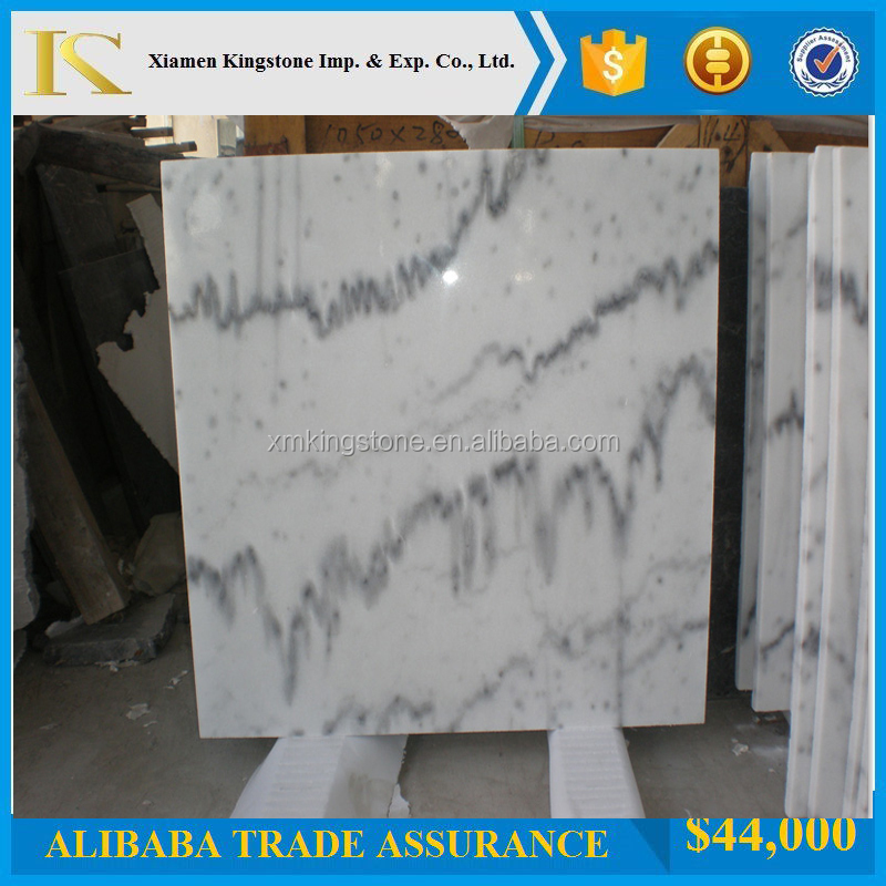 Hot Sale Cheap Price Chinese Guangxi White Marble Tiles(Good Price+Direct Factory)