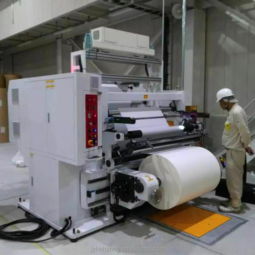 Inspection Rewinder Machine With Futec Inspection System