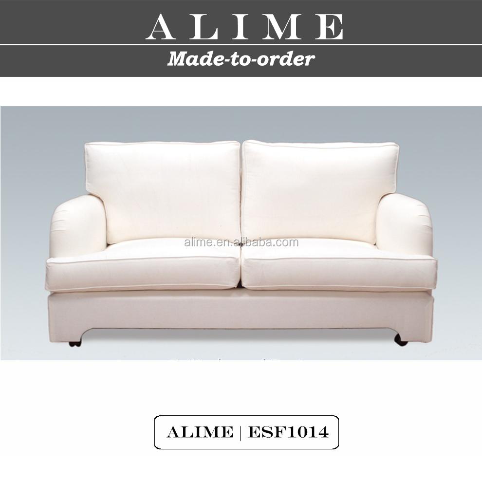 White Leather LoveseatSmall Sofa Love Seat