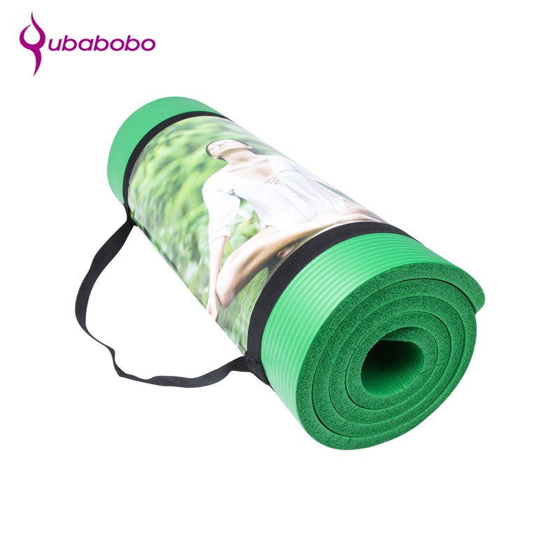 China manufacturer foam NBR yoga mat used gymnastic mats