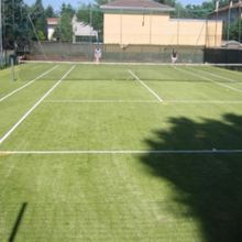 Quality Synthetic Turf Colors For Tennis Field