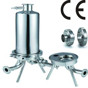 "SS 316L 1"" Tri-Clamp Connection Sanitary Filter Housing For Wine and Pharmaceutical Processing"