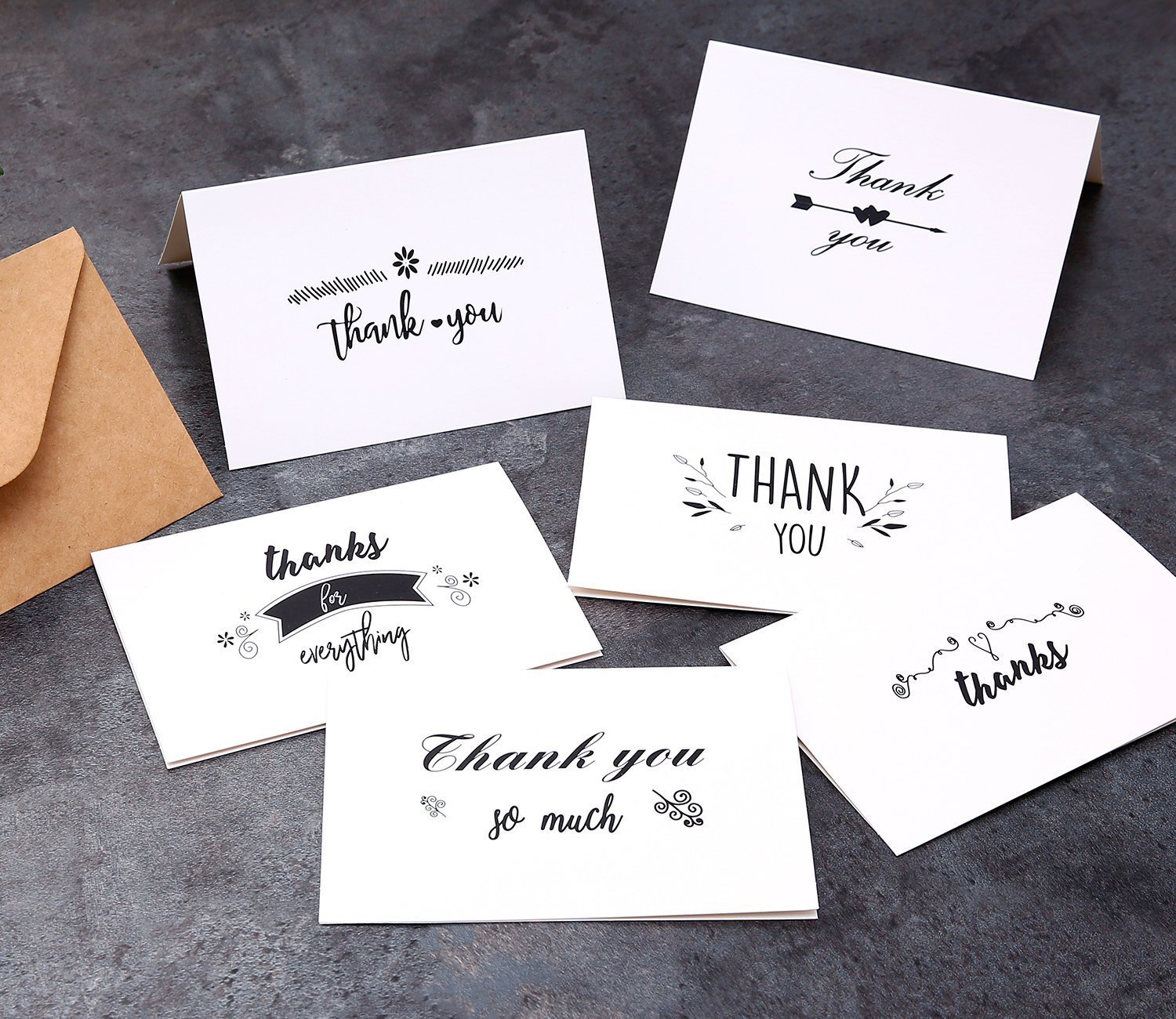 MOQ 300 Custom Thank You Cards Pack Wholesale