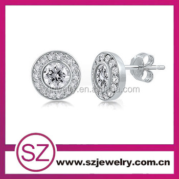 Ear 0015 Fashion Silver Studs And Boys Earrings For Boys China ...
