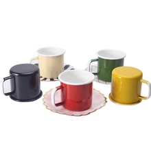 Home Reise <span class=keywords><strong>Kaffee</strong></span> Keramik Emaille Becher Lustige Tee Tasse