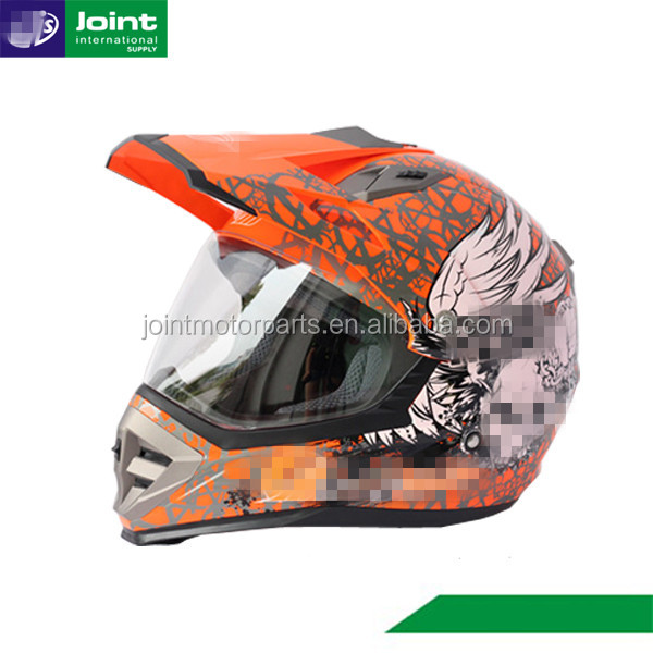 Motorcycle New Model Helmet ABS Material Motocross Helmet ECE Dirt Bike Helmet