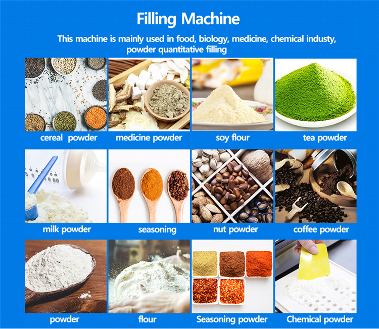 Newest Design Milk Powder Filling Machines Auger Fillers