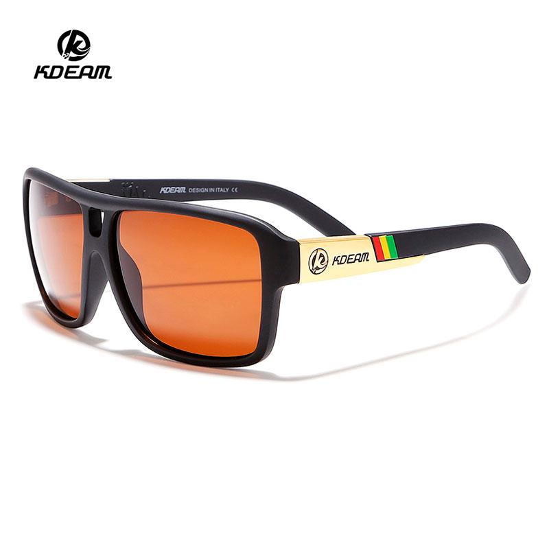Unisex Travelling Sunglasses 2019 KDEAM Sun glasses Men Polarized Sport Retro Squared Eyewear with TAC Lens for Women, N/a