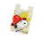 Cute cartoon logo smart silicone mobile cell phone card pocket