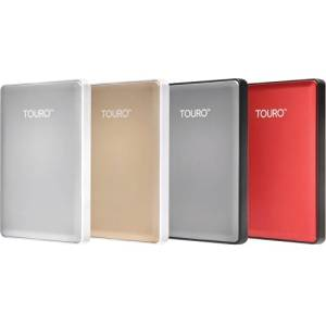 """Hgst, A Western Digital Company - Hgst Touro S Htospa10001bcb 1 Tb External Hard Drive - Usb 3.0 - 7200 Rpm - Portable - Red """"Product Category: Storage Drives/Hard Drives/Solid State Drives"""""""