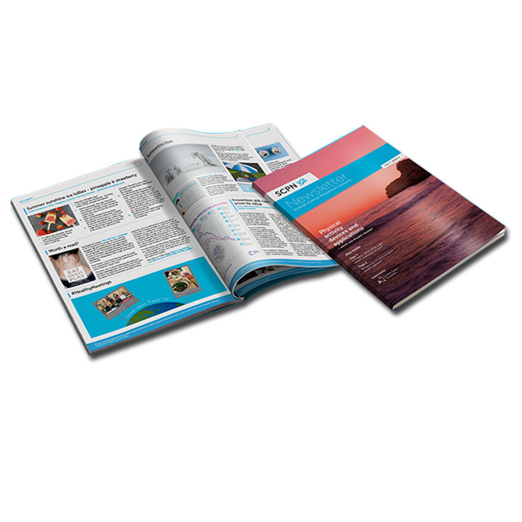 Wholesale Cheap Sale High Quality Fashion Magazine Printing with custom design