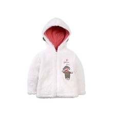 Winter Baby Kids Faux Fur Fleece Jacket Outerwear Fancy Girl Coats