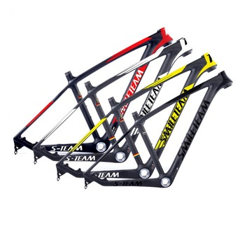 2018 Smileteam New 29er MTB Full Carbon Bike Frame , 27.5er/29er Carbon UD Matte Mountain Bike Frame