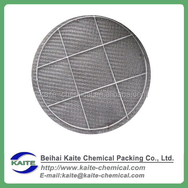 Demister, Stainless steel and plastic wire mesh demister pad, Mist eliminator