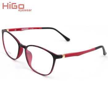 Red Glasses Spectacle Frame Ultem Material Plastic Glasses