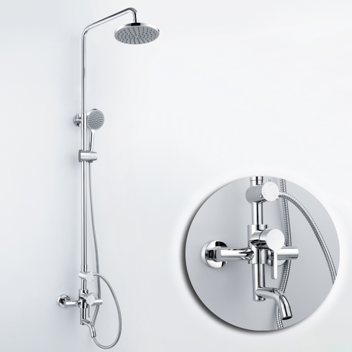 Buy Free Shipping Basin Copper Shower Set Shower Faucet