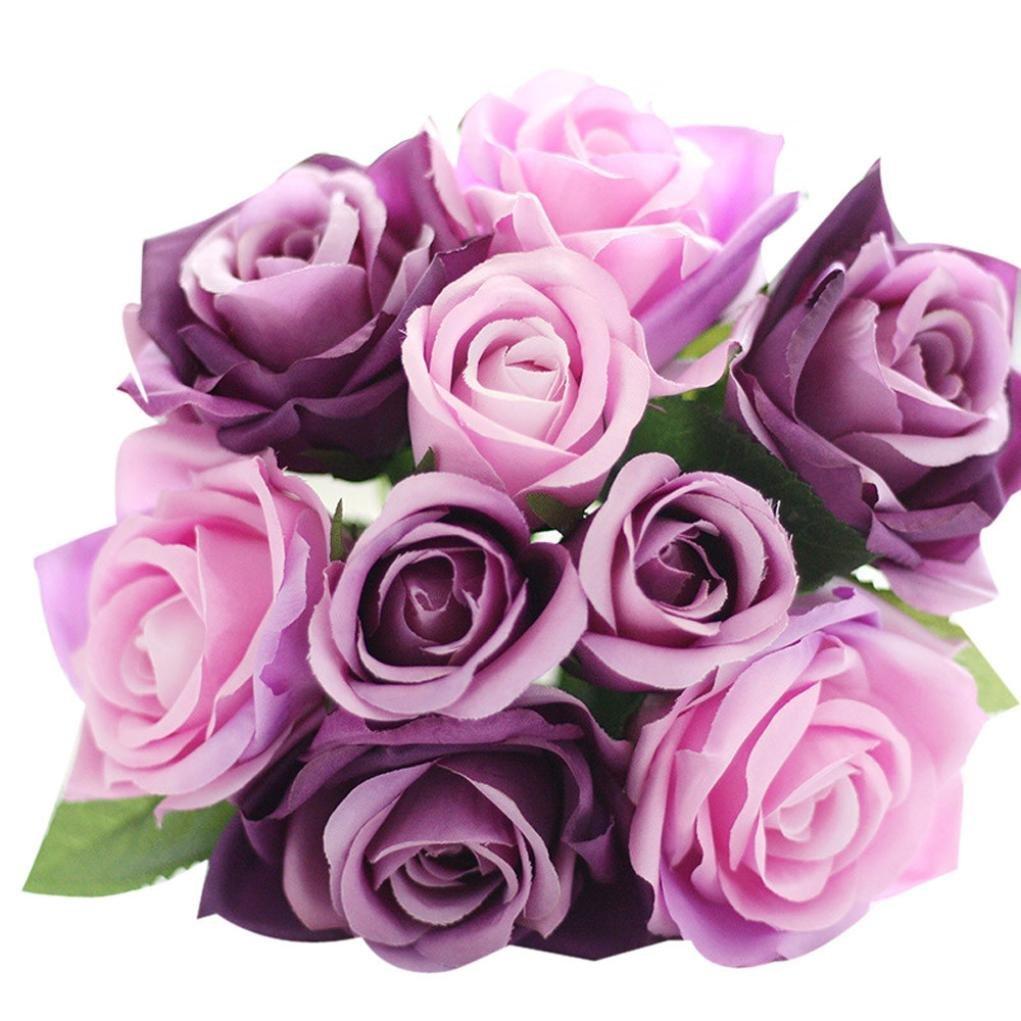 Cheap Purple Silk Flowers Bulk, find Purple Silk Flowers Bulk deals ...