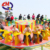Factory direct Amusement park rides flying UFO funfair flying UFO disco rides for sale with LED lights