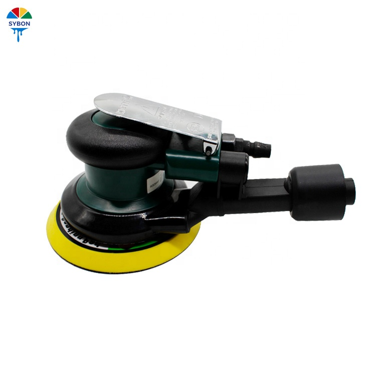 Pneumatic Tools Imported From Abroad Quality 5 125mm Pneumatic Sanders Air Eccentric Orbital Sanders Cars Polishers Air Tools Power Tools