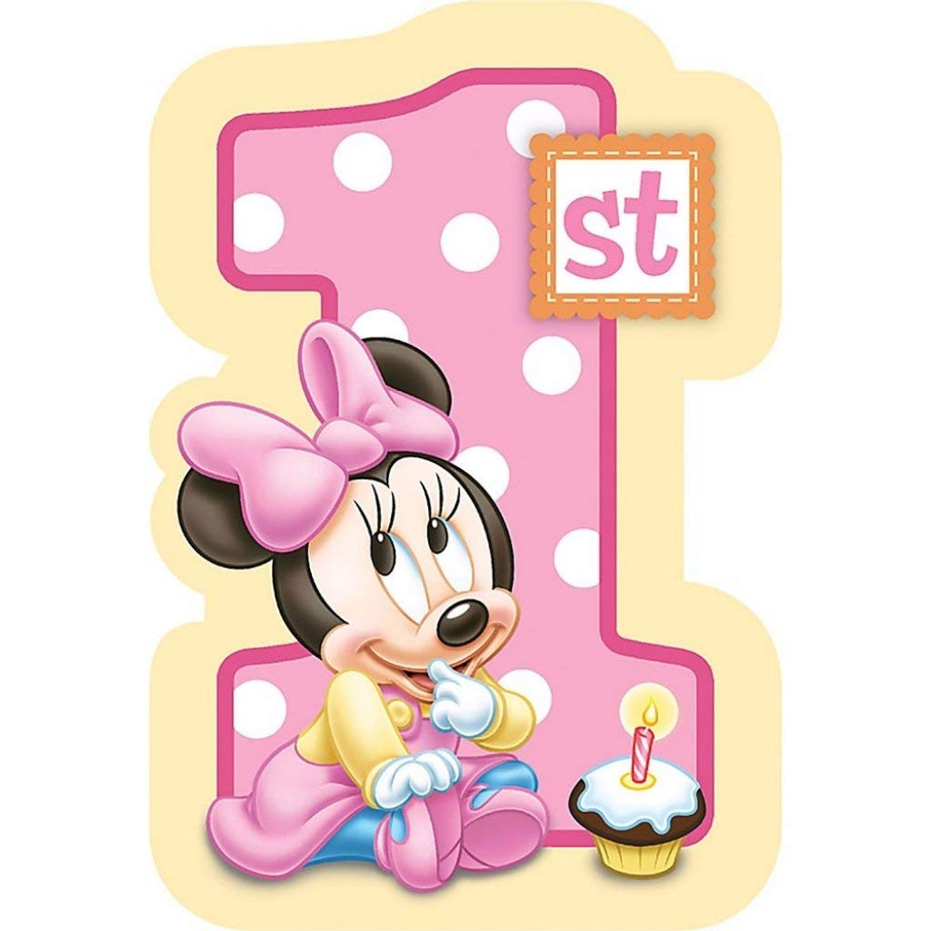 Sensational Cheap Minnie Mouse Birthday Cake Topper Find Minnie Mouse Funny Birthday Cards Online Inifodamsfinfo