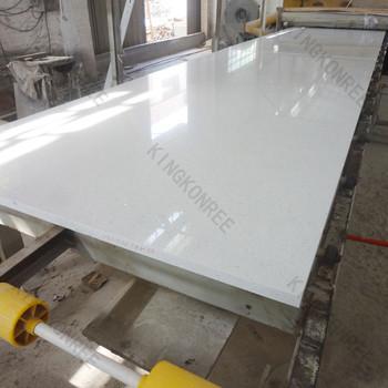 18mm Pearl White Sparkle Galaxie Quarz Steinplatte Für Küchenarbeitsplatte