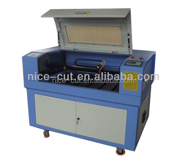 60w NC-E6090 China rotary attachment for laser engraving machine