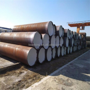 Big Inch Thin Wall API 5L Gr.B,X42,X46,X52,X56,X60 PSL1 SSAW/Spiral Welded 3PE/3LPE/FBE/Epoxy Coated Steel Pipe