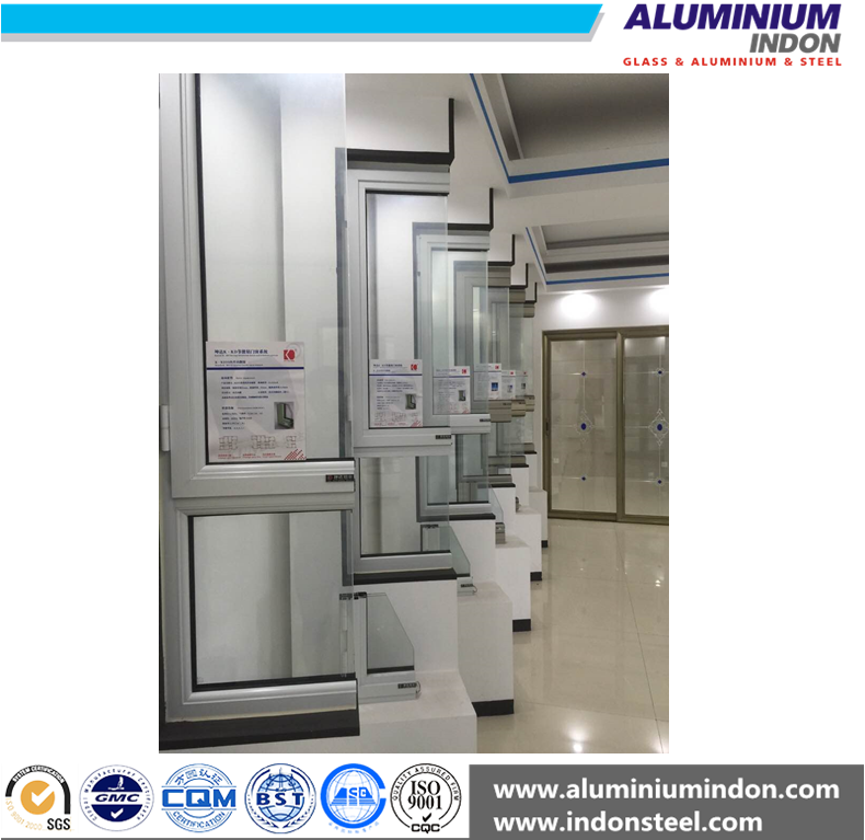 High standard aluminium profile to make corner joint